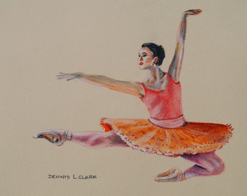 How To Draw A Dancing Ballerina In Pastel Online Art Lessons
