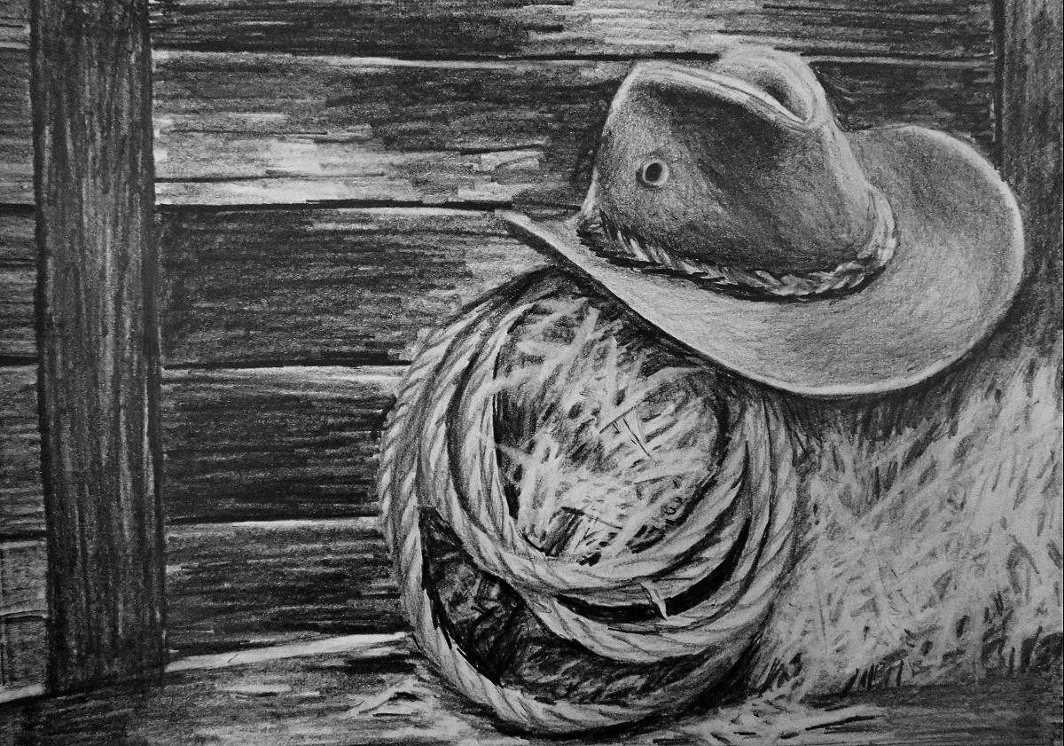 Cowboy Hat Drawing Tutorial