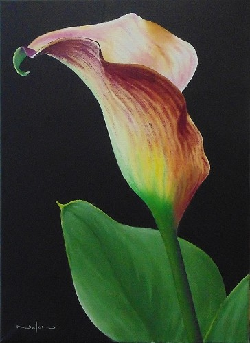 How to Paint a Calla Lily in Oil - Online Art Lessons