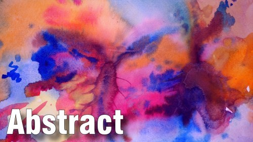 Learn how to paint abstracts in watercolor