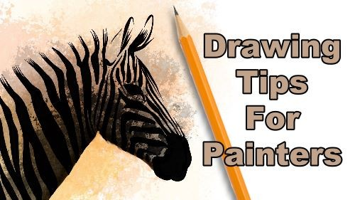 Drawing tips for painters banner