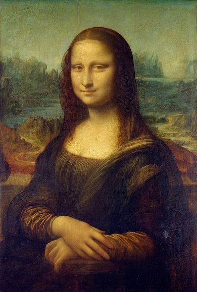 Mona Lisa is representational but not a narrative painting