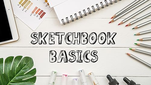 Sketchbook basics tutorial banner