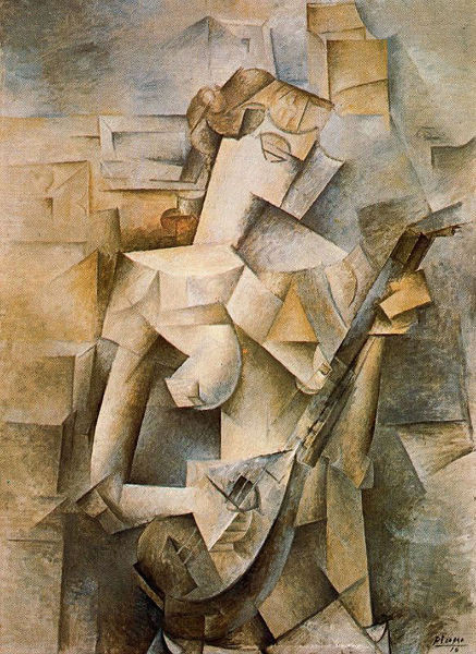 Girl with Mandolin by Picasso