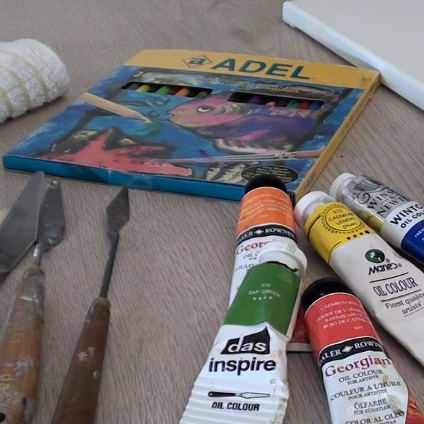oil painting equipment