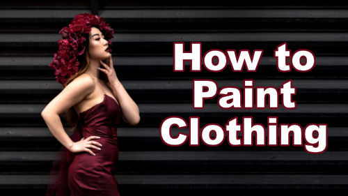 How to paint clothing