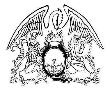 Freddie Mercury - Queen Logo