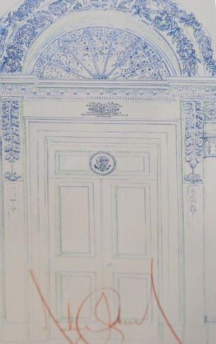 Michael Jackson - White House Door Crop