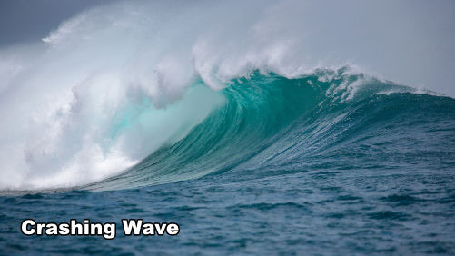 How to Paint a Crashing Wave